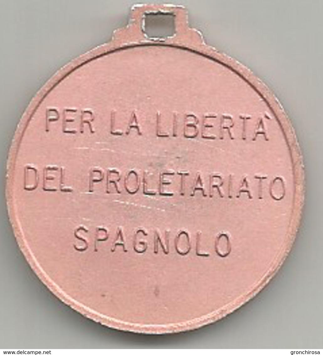Julian Grimau, Per La Libertà Del Proletariato Spagnolo, Mistura, Cm. 3. - Altri