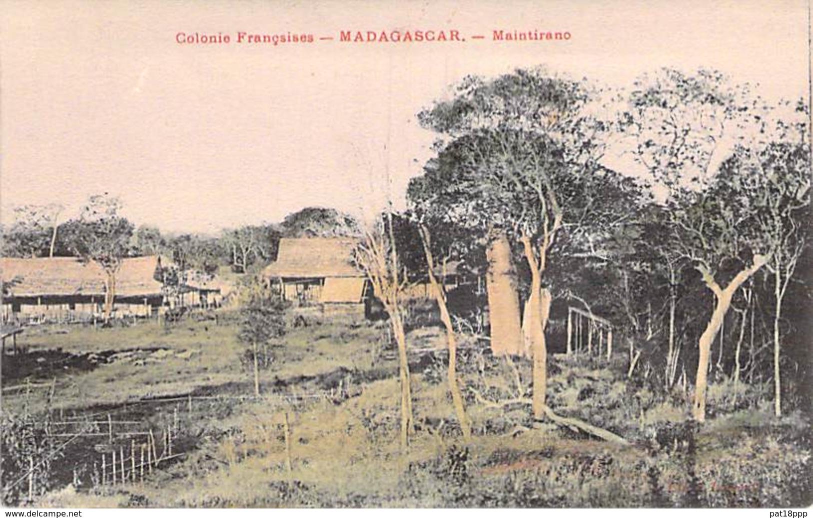 MADAGASCAR - Maintirano - Jolie CPA Colorisée - Afrique Noire - Madagascar