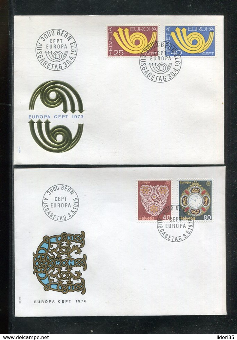 Schweiz / Lot Mit 14 FDC (13445-70) - Alla Rinfusa (max 999 Francobolli)