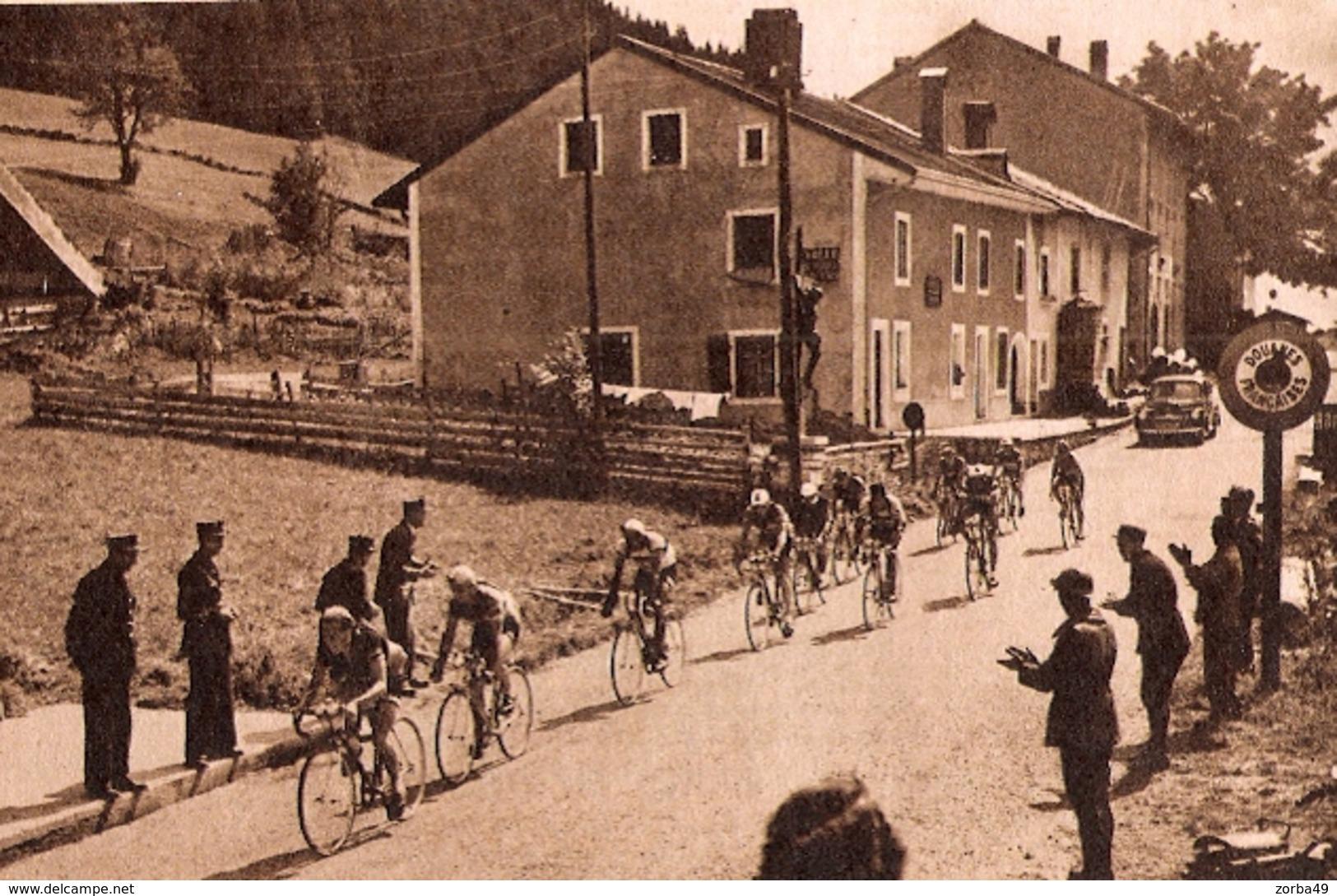 LA CURE Tour De Suisse 1949 - Old Paper