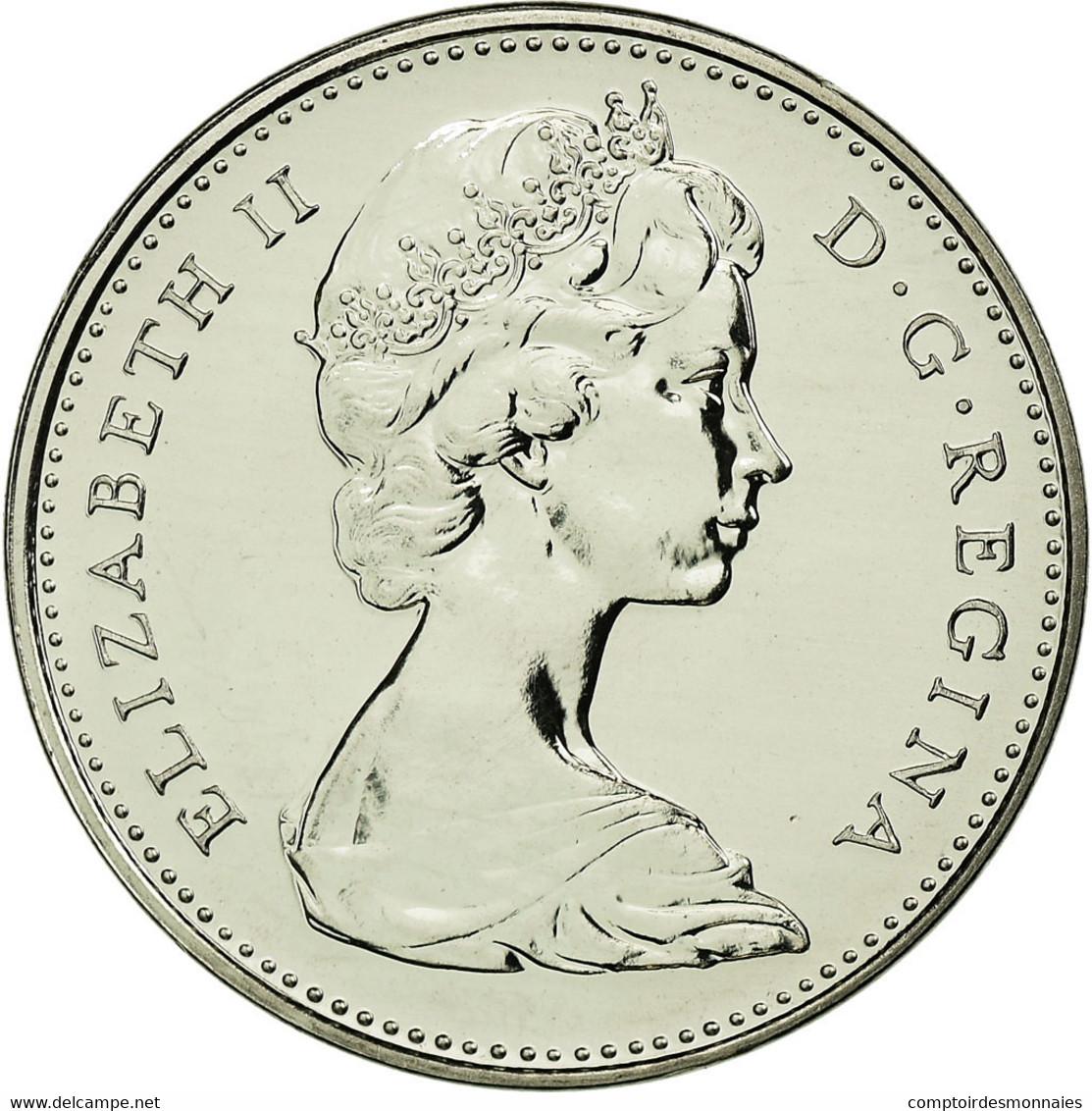 Monnaie, Canada, Elizabeth II, 5 Cents, 1977, Royal Canadian Mint, Ottawa, FDC - Canada
