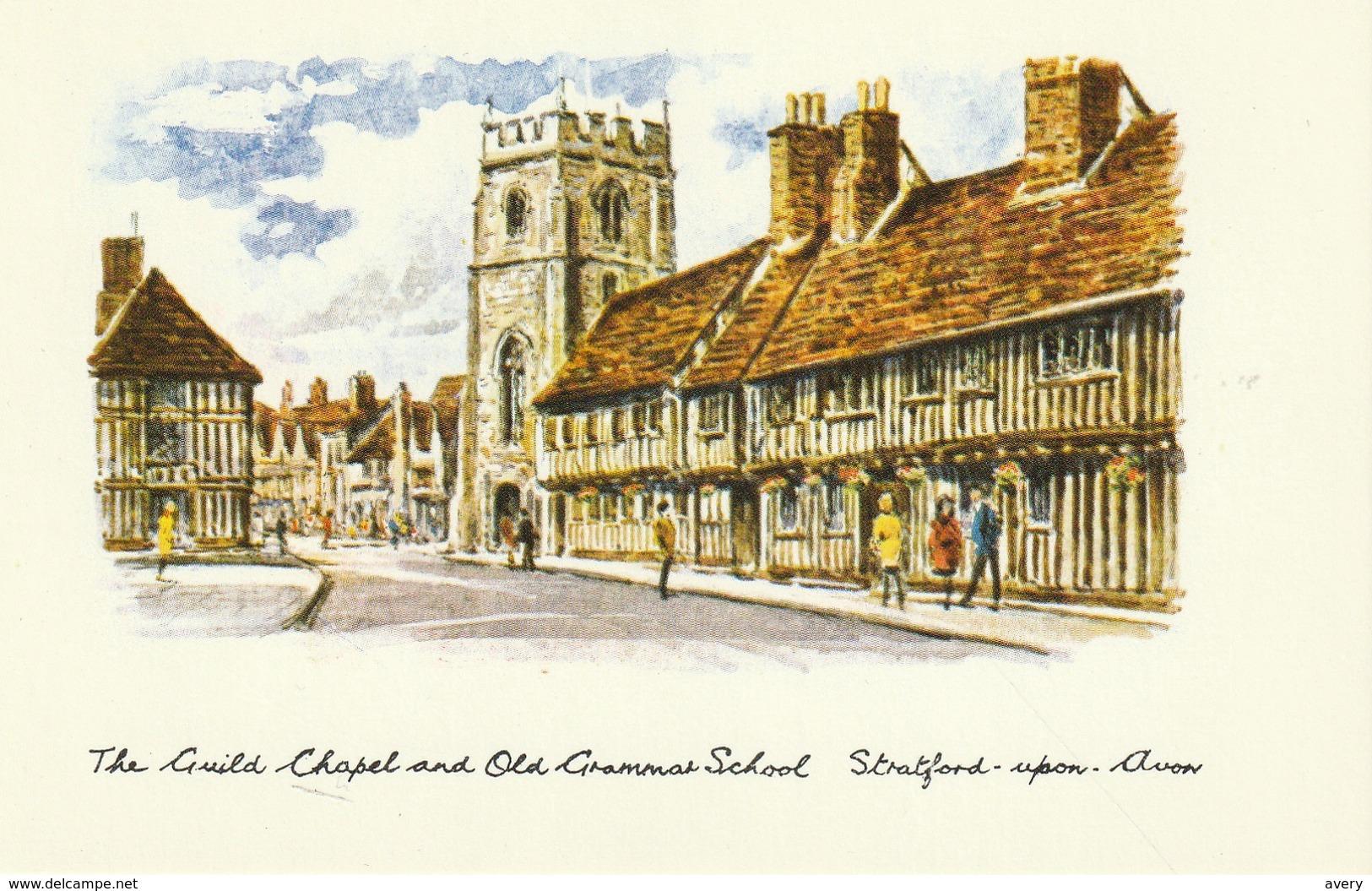 The Guild Chapel And Old Grammar School, Stratford-upon-Avon - Stratford Upon Avon