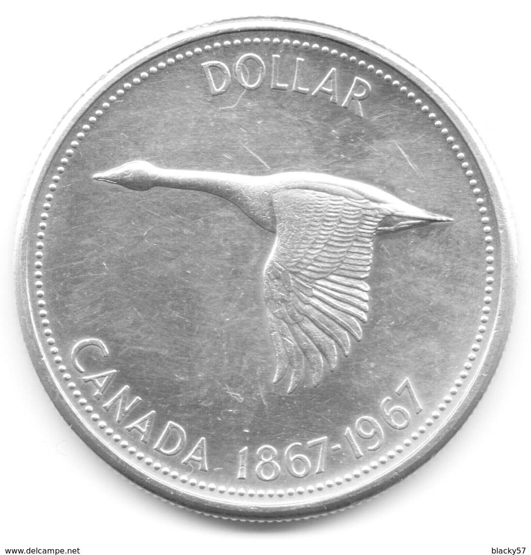 Canada - 1 Dollar Argent 1967 - Canada