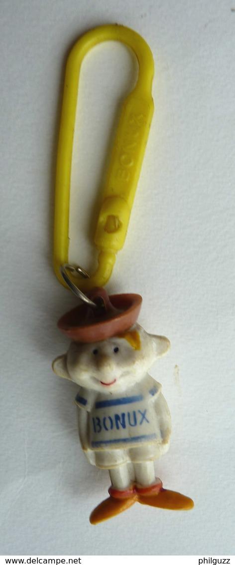 Porte Cles Bonux FIGURINE BONUX BOY Chapeau Marron JIJE -) BENOIST - Figurines