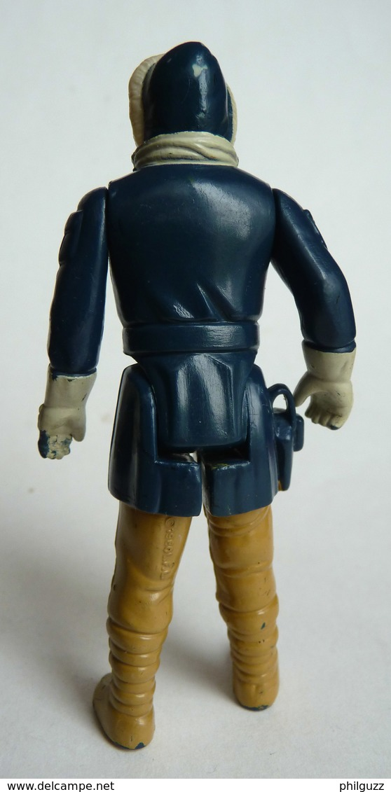 FIGURINE FIRST RELEASE  STAR WARS 1980 HAN SOLO HOTH OUTFIT Hong Kong (7) - First Release (1977-1985)