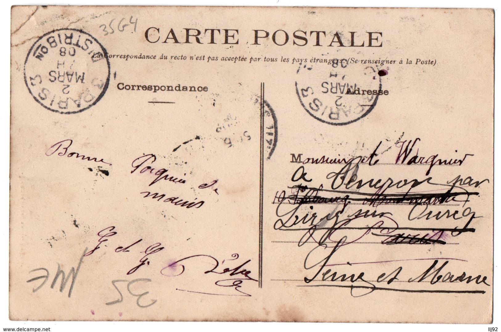 CPA 35 - RENNES (Ille Et V.) . 1083. Boulevard De La Liberté Et Caserne Kergus - Rennes