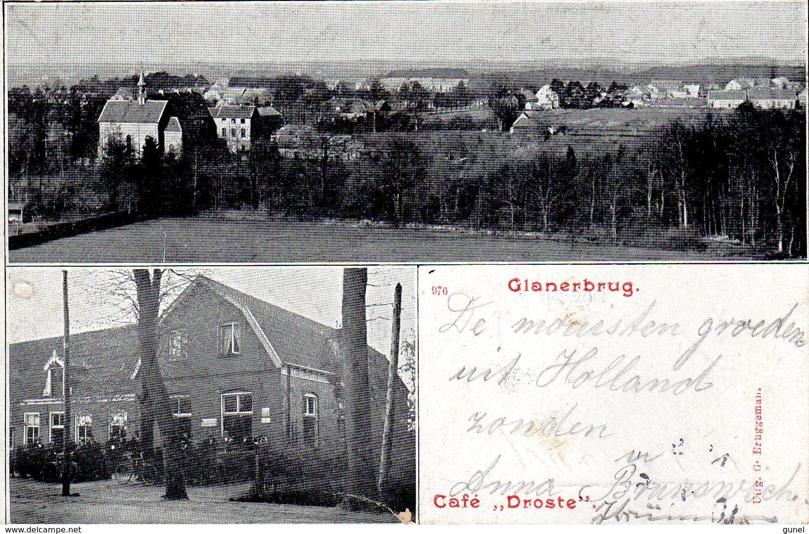 8 JUL 01 Grootrond GLANERBRUG Op Ansicht Naar Bremen - Postal History