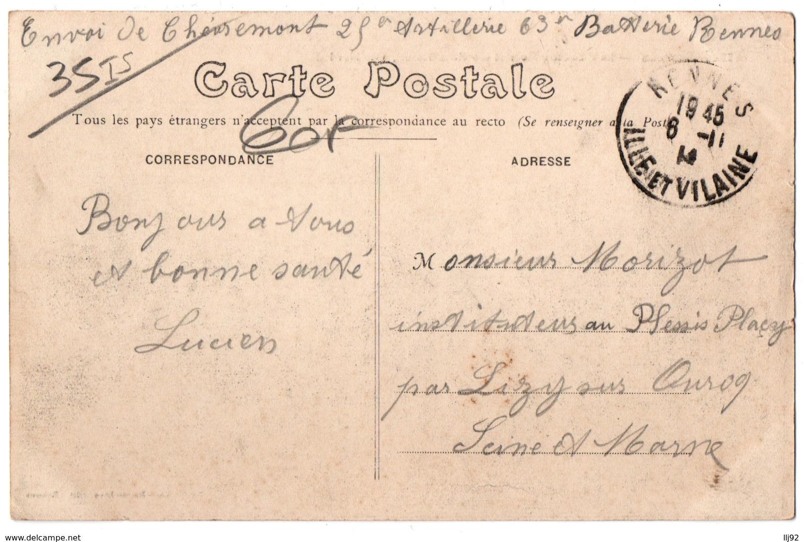 CPA 35 - RENNES (Ille Et V.) - La Place Des Lices Et Ses Vieux Hôtels, Côté Nord - Rennes
