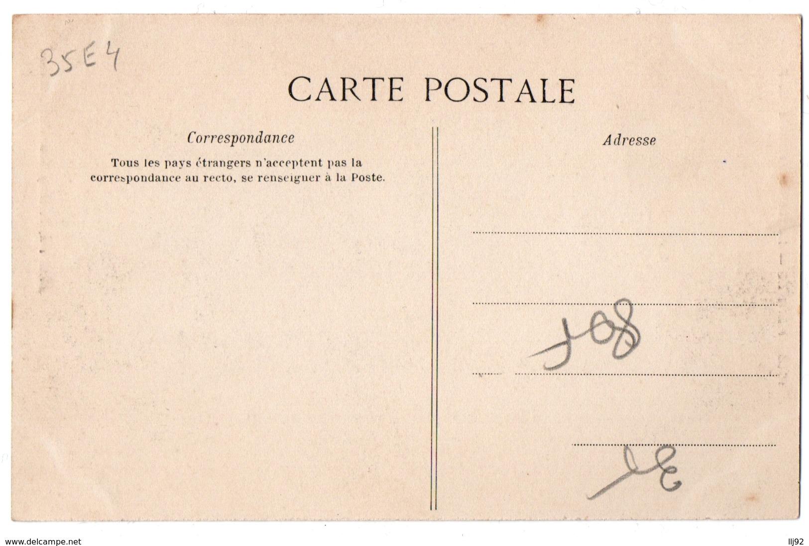 CPA 35 - RENNES (Ille Et V.) - 1018. La Rue De Nemours - G. F. - Rennes