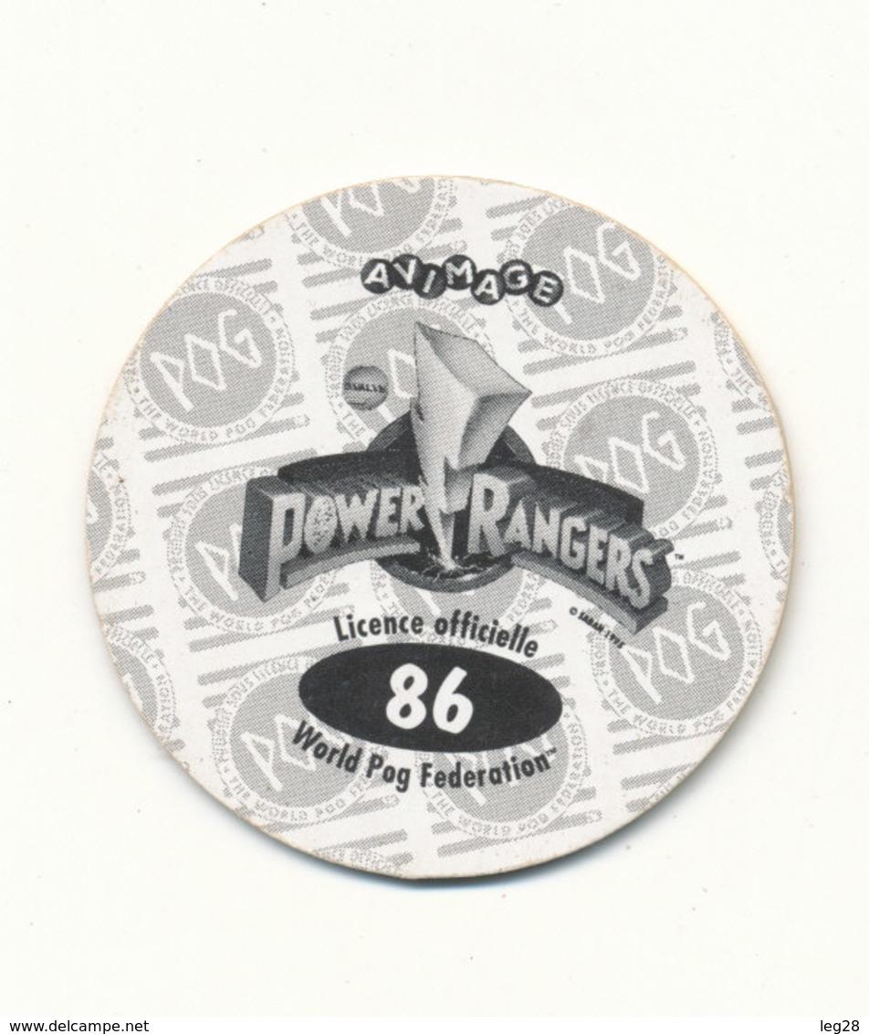 POG  POWER RANGERS 86 - Jeux De Société