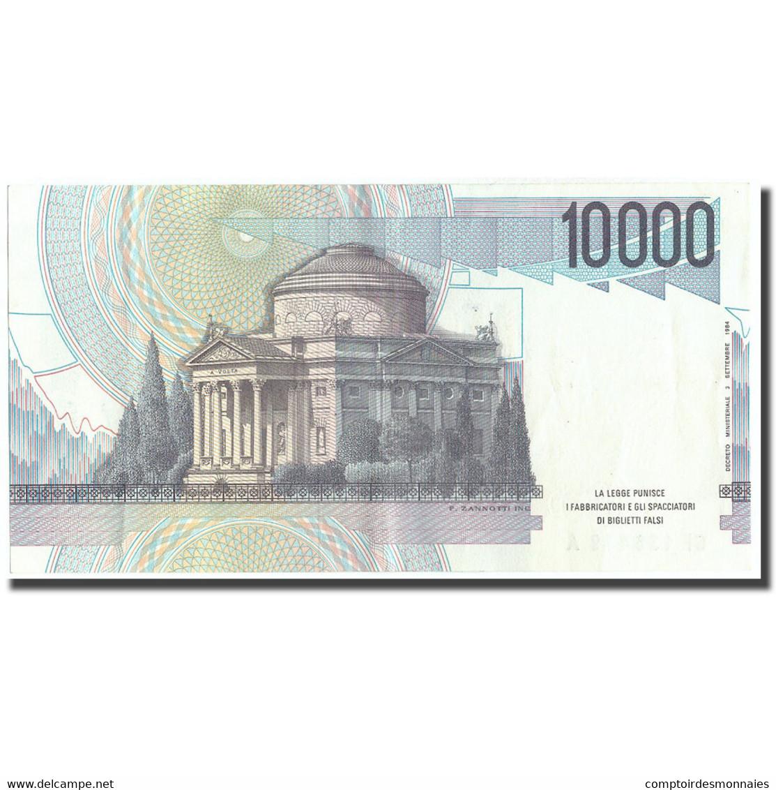 Billet, Italie, 10,000 Lire, Undated (1994), KM:112c, SUP+ - [ 2] 1946-… : République