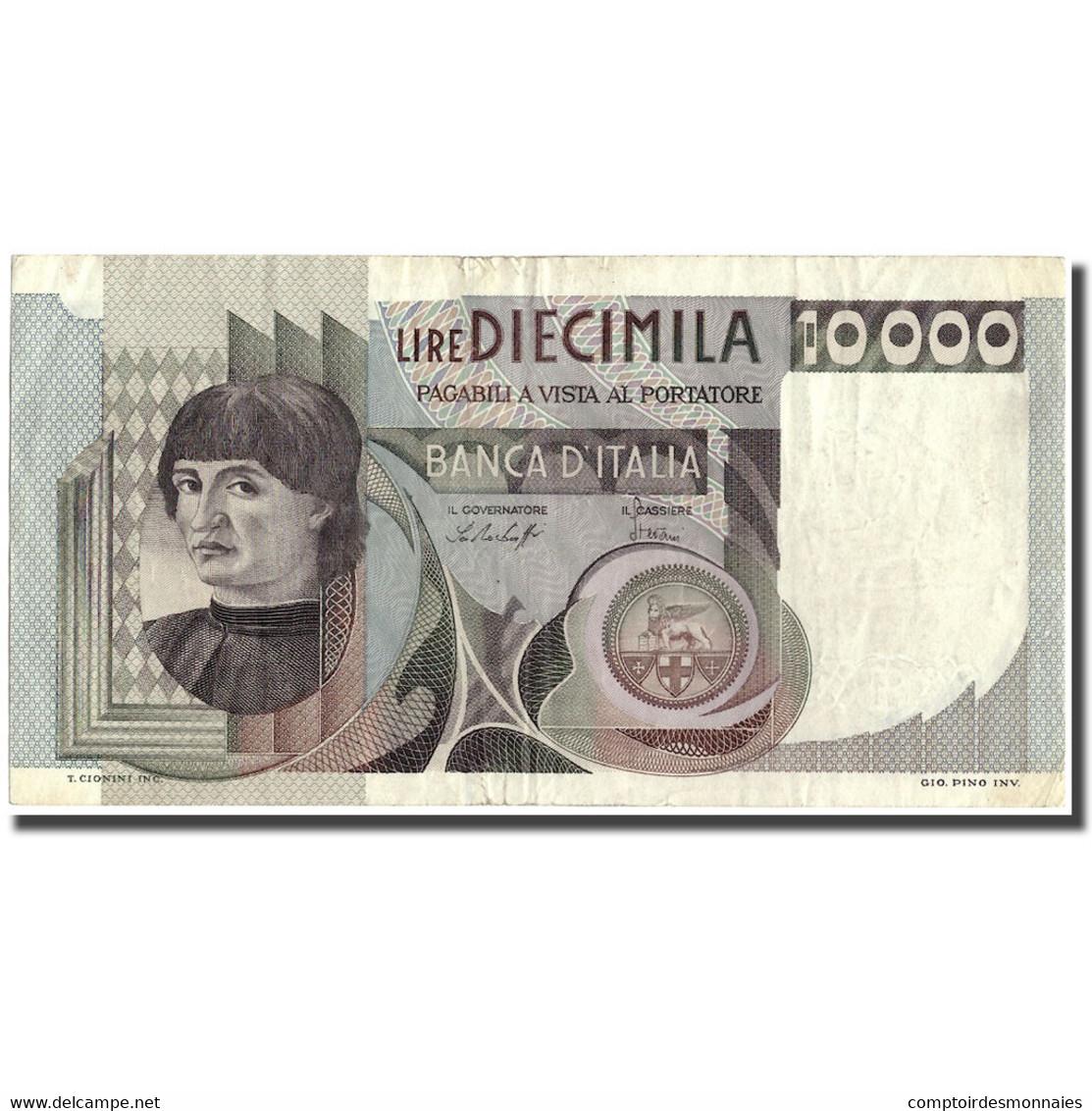 Billet, Italie, 10,000 Lire, 1978, 1978-12-29, KM:106a, TTB - [ 2] 1946-… : République