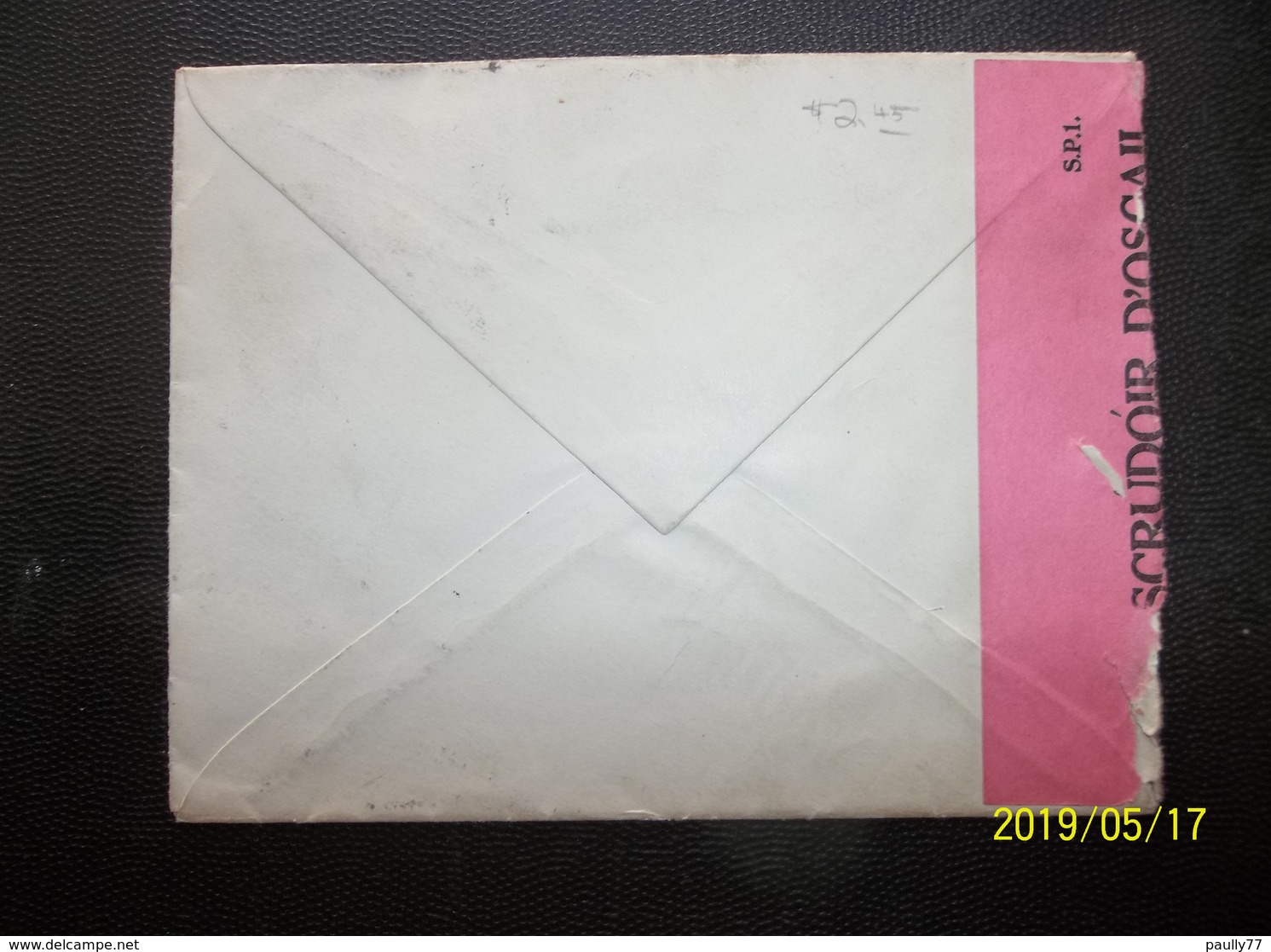Eire: 1940 Censored Air Cover To New York, USA (#CR6) - 1937-1949 Éire