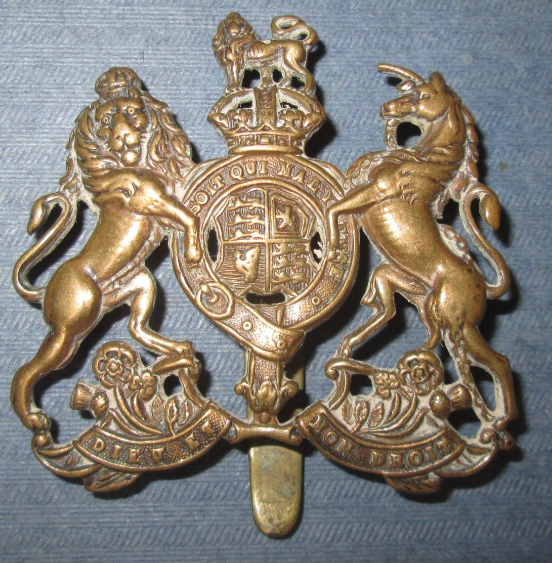 Cap Badge GB WW1 - 1914-18