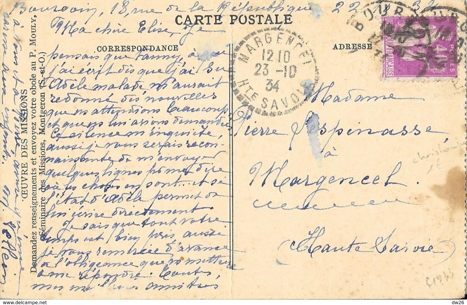 Missions De La Congrégation Des Sacrés-Coeurs - Le P. Coudrin Voit Ses Fils Partir Pour Les îles (peinture 1931) - Missions