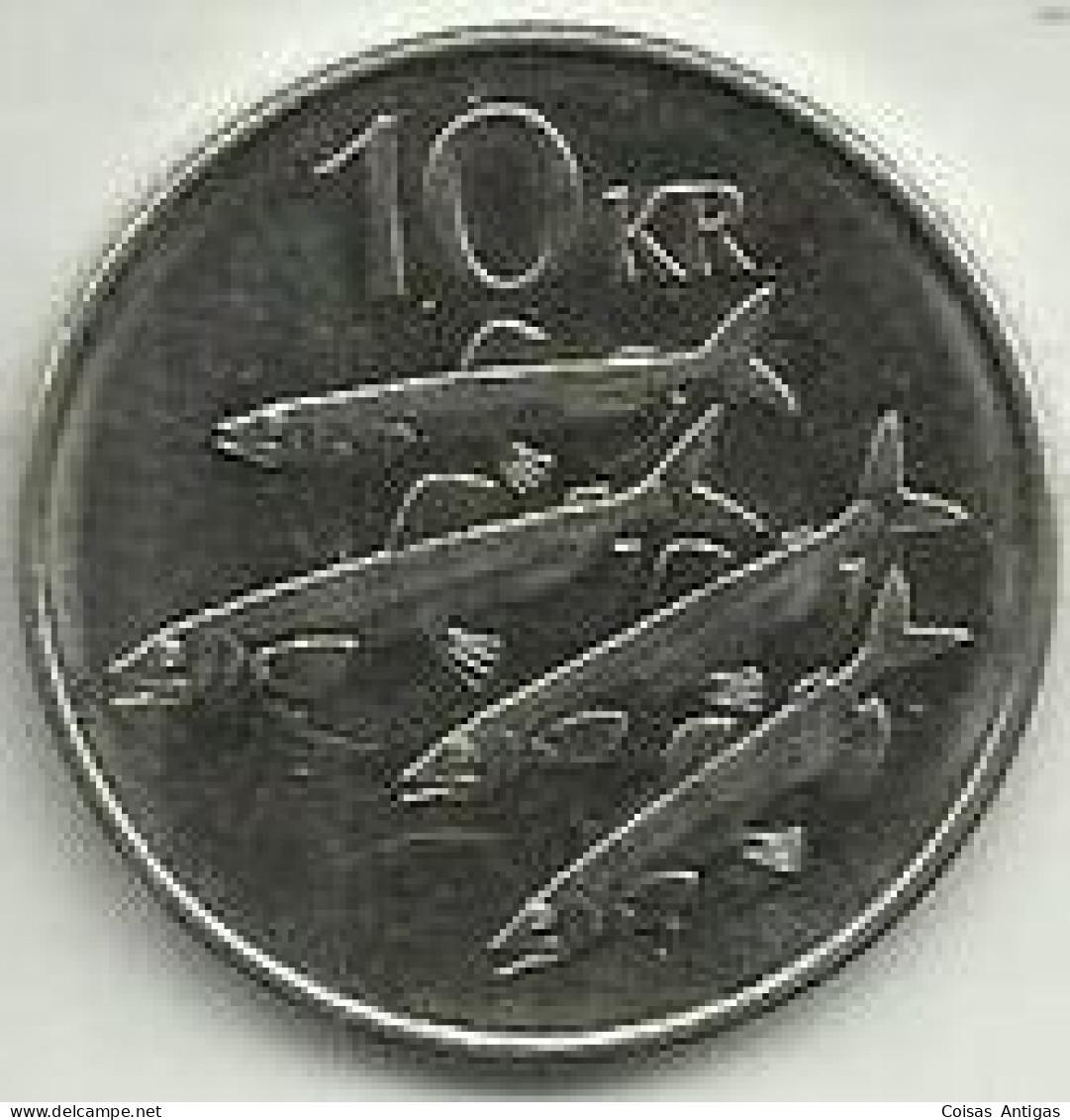 10 Kronur 2004 Islândia - Iceland