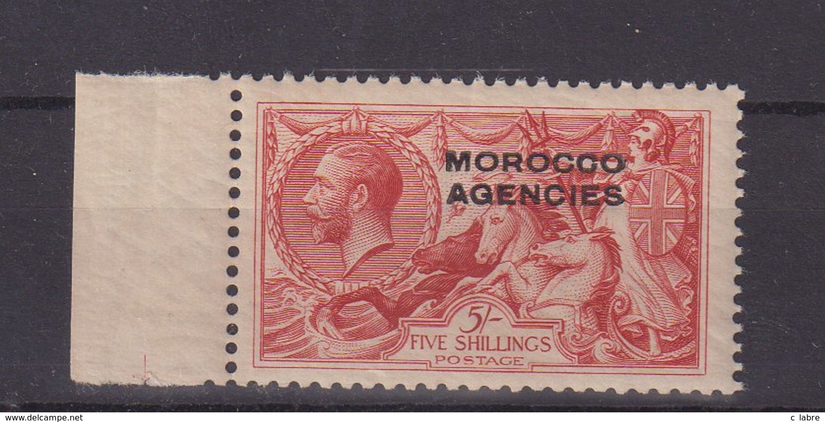 MAROC : BX ANGLAIS . TOUS LES BUREAUX . N° 18 ** . BDF . LUXE . 1914/31 . ( CATALOGUE YVERT ) . - Morocco Agencies / Tangier (...-1958)