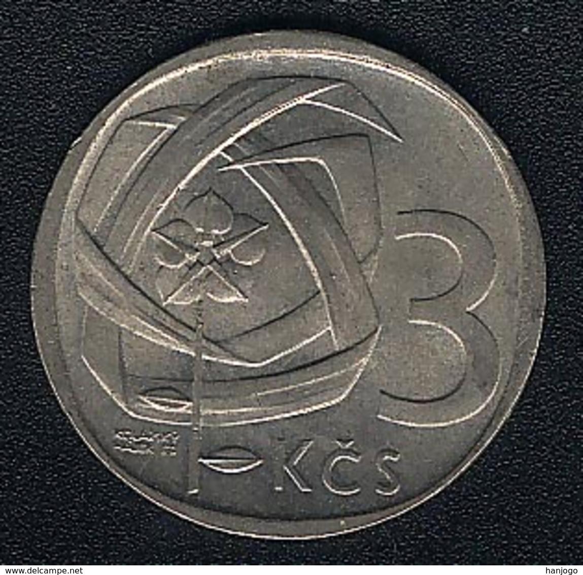 Tschechoslowakei, 3 Korun 1969, XF - Tschechoslowakei