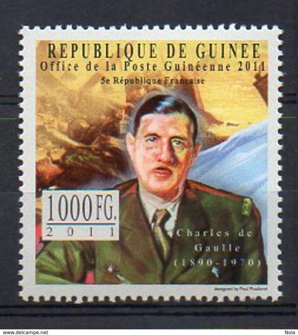 GUINEA. CHARLES DE GAULLE. MNH (5R0220) - Unclassified