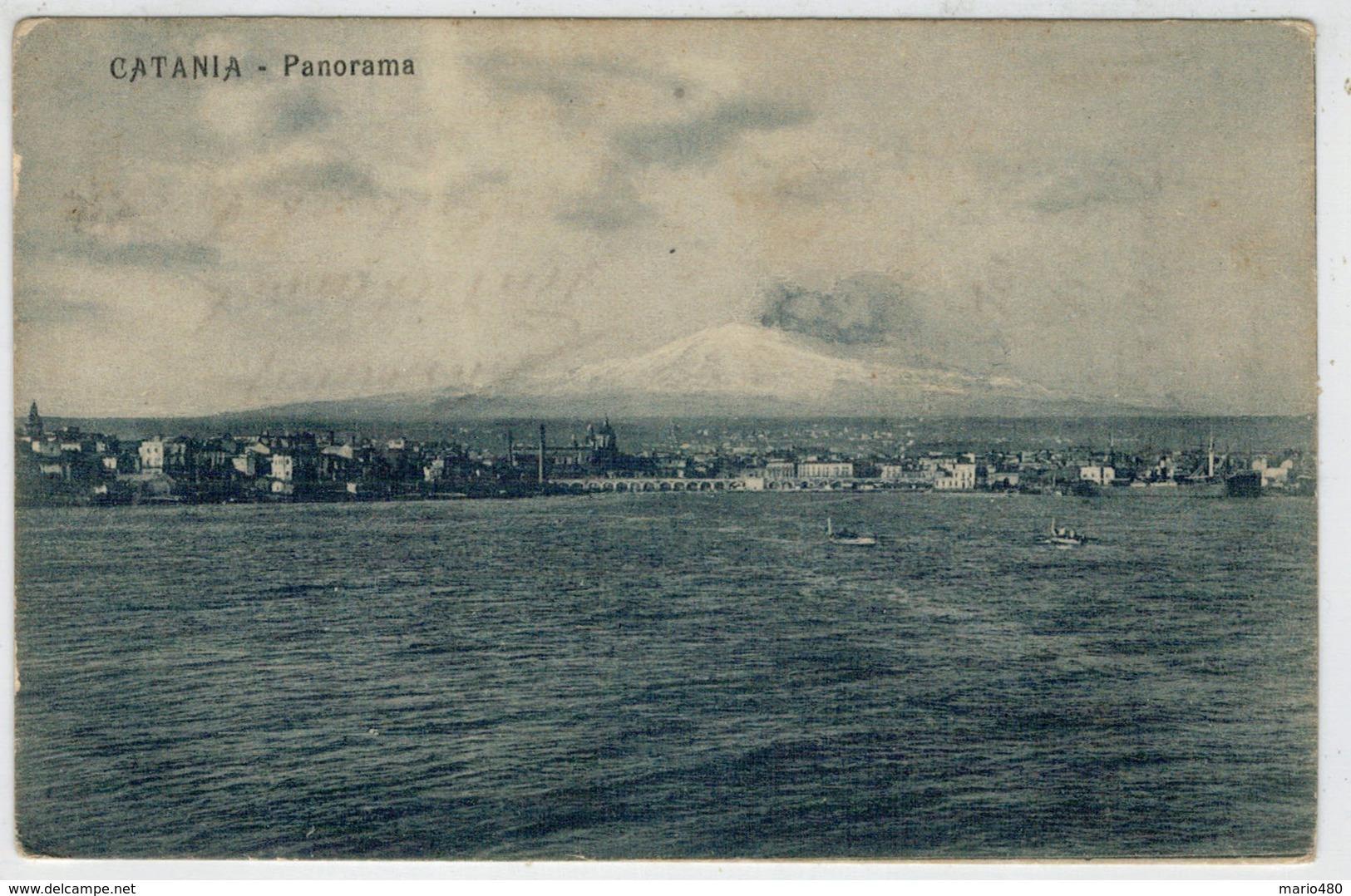 C.P.  PICCOLA        CATANIA    PANORAMA                (NUOVA) - Catania