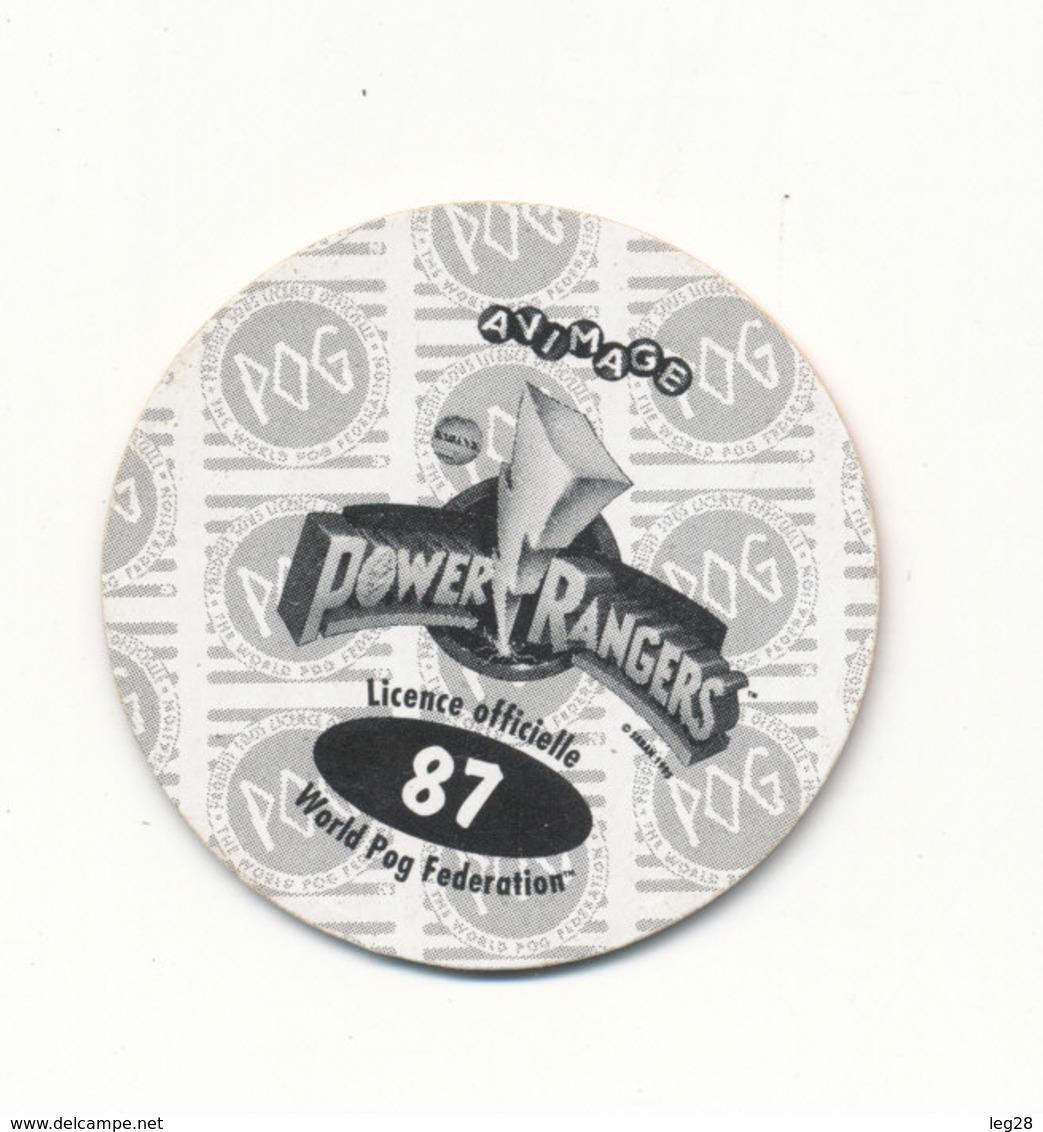 POG  POWER RANGERS 87 - Jeux De Société