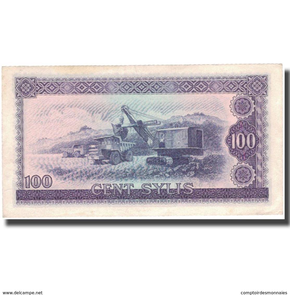 Billet, Guinea, 100 Sylis, 1960, 1960-03-01, KM:19, TTB - Guinea