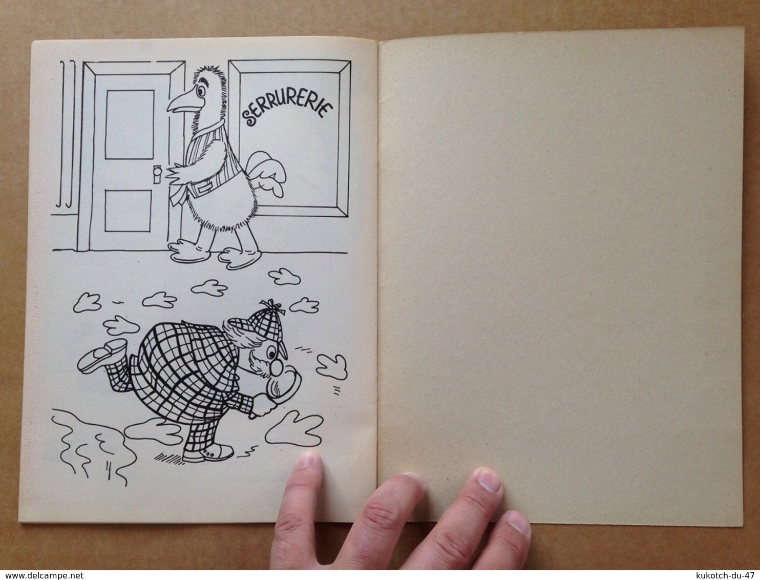 Album Jeunesse - Toccata Et Mordicus (Casimir 1978) - Livres, BD, Revues