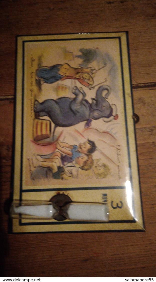 Illustration De Germaine Bourret Minuteur Pour œuf Cuisine éléphant Cirque Dompteur - Unclassified