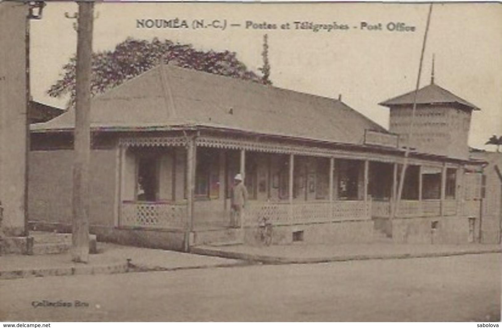 Nouvelle Calédonie Nouméa Postes Et Télégraphes - Nuova Caledonia