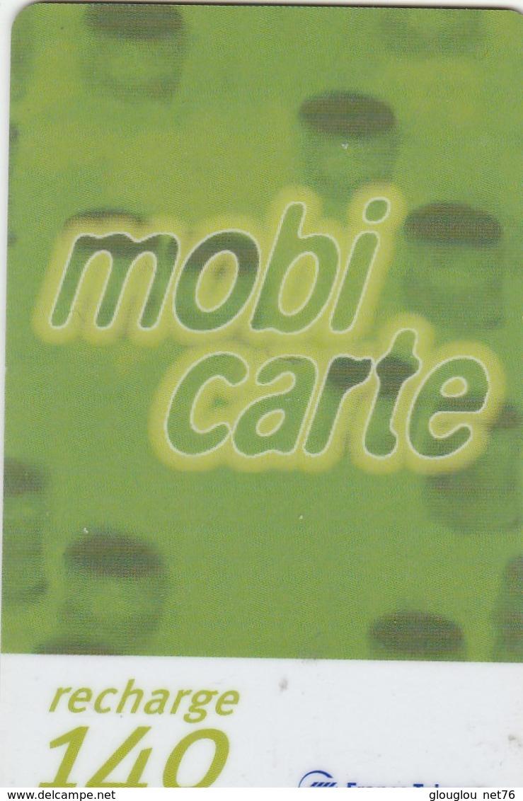 MOBICARTE.. RECHARGE 140 - Mobicartes (recharges)