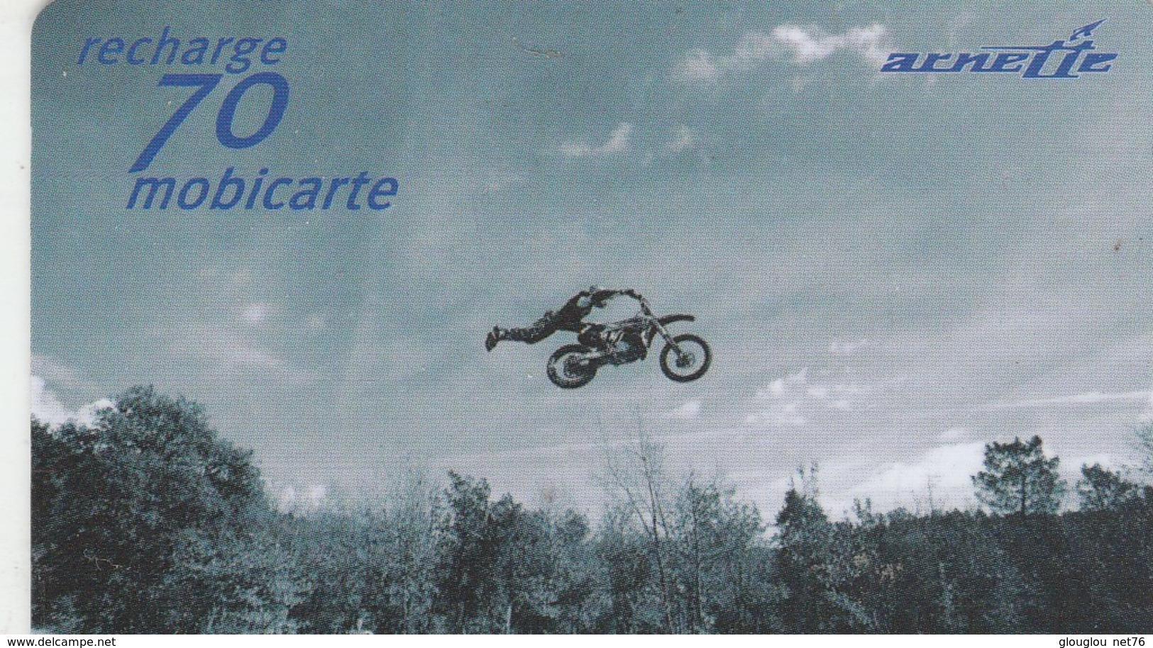 MOBICARTE...RECHARGE 70...ARNETTE - Mobicartes (recharges)