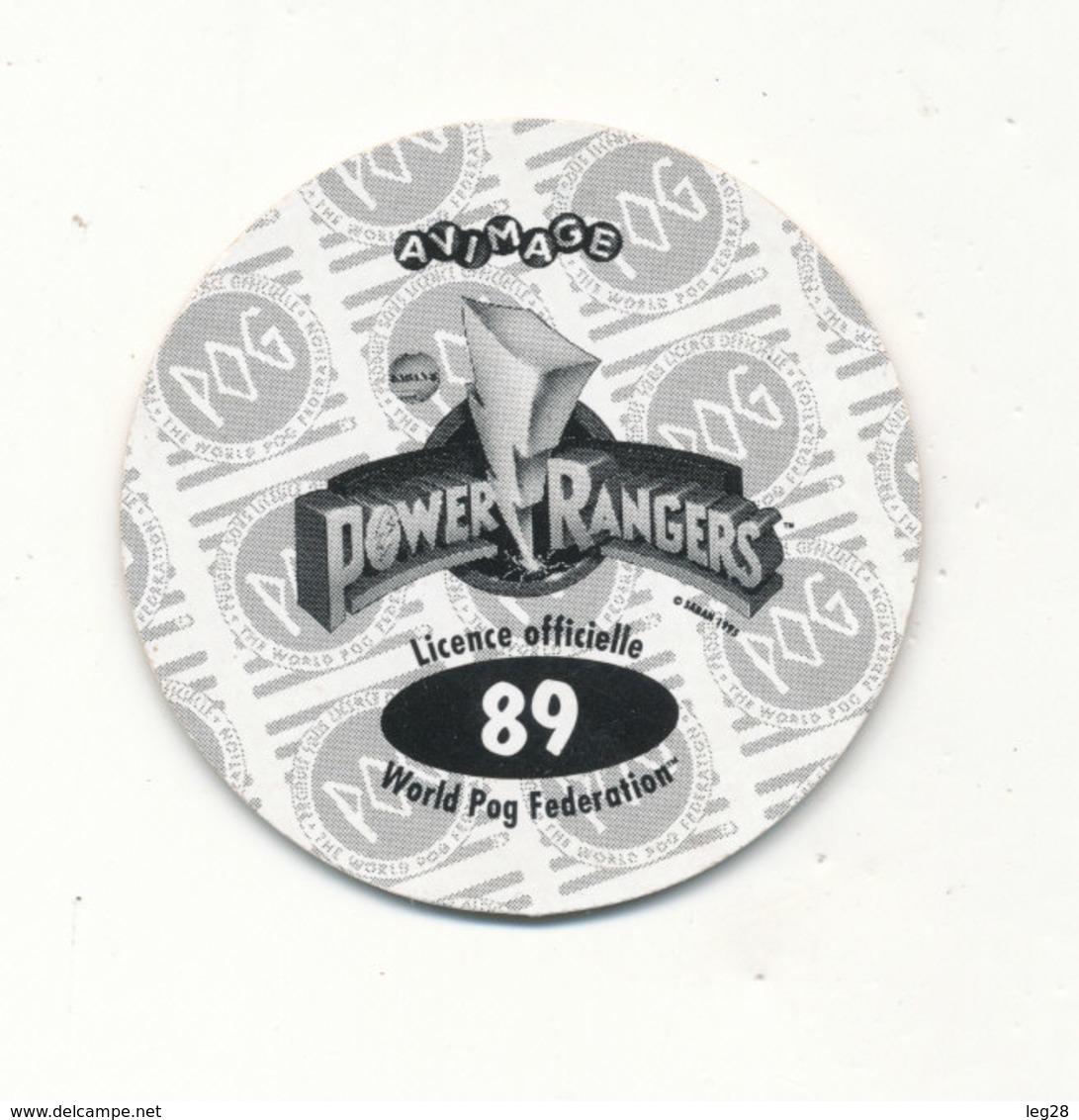POG  POWER RANGERS 89 - Jeux De Société