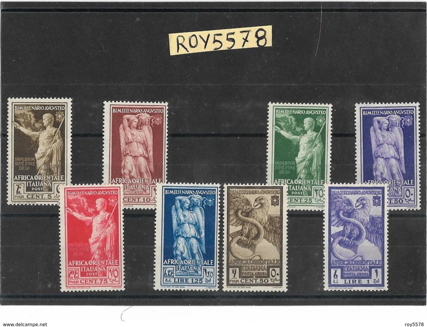 Francobollo Stamps Francobolli Colonie Italiane Africa Orientale Bimillenario Nascita Augusto 1938 ( Nuova V.retro) - Africa Orientale Italiana