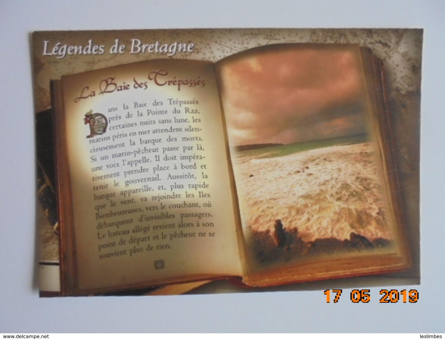Legendes De Bretagne. Plogoff Cleden Cap Sizun. La Baie Des Trepasses A Proximite De La Pointe Du Raz. JOS - Fairy Tales, Popular Stories & Legends