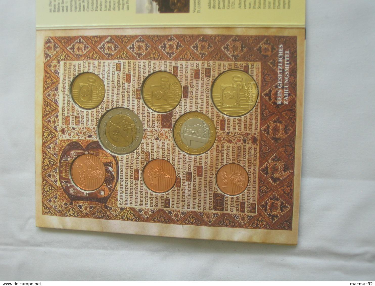 Coffret FDC Euro Patterns - Euro Prove - LIECHTENSTEIN   2004    **** EN ACHAT IMMEDIAT **** - Essais Privés / Non-officiels
