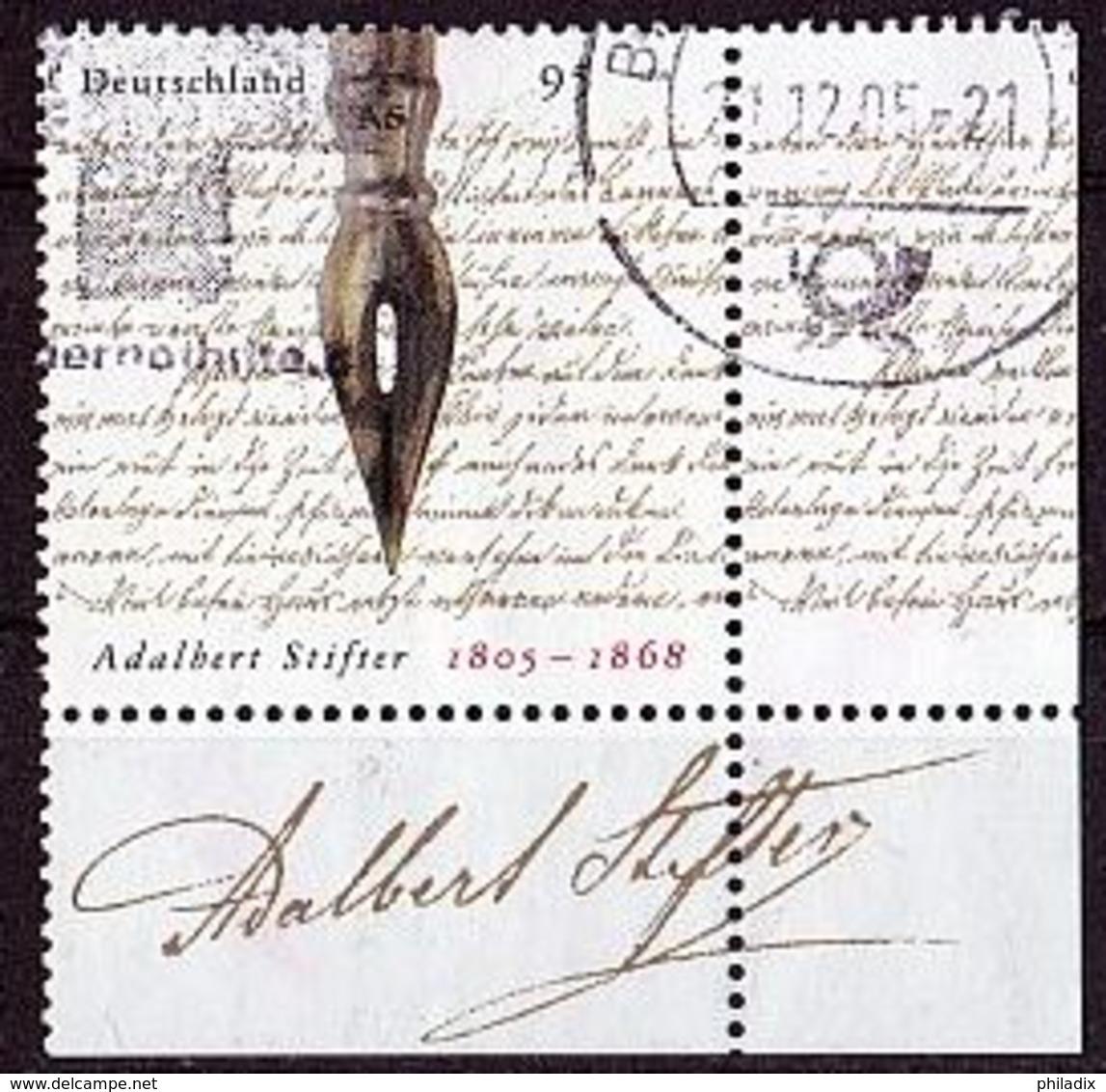 BRD Mi. Nr. 2490 O Eckrand Unten Rechts (A-3-42) - BRD