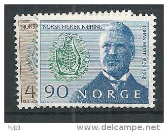1969 MNH Norwegen, Hjort, Postfris - Norvegia