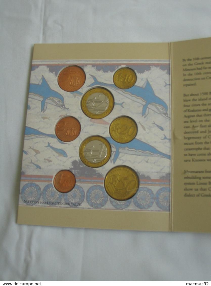Coffret FDC Euro Patterns Set - Euro Prove - CRETE  2004    **** EN ACHAT IMMEDIAT **** - Essais Privés / Non-officiels