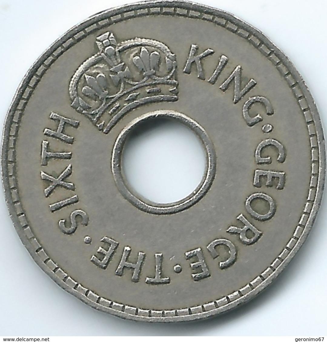 Fiji - George VI - 1952 - Penny - KM17 - Fiji