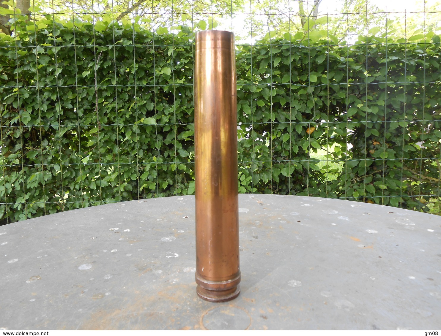 Militaria. Douille D'obus Allemand 3.7 Cm . FLAK.  1942. WW2 - Autres