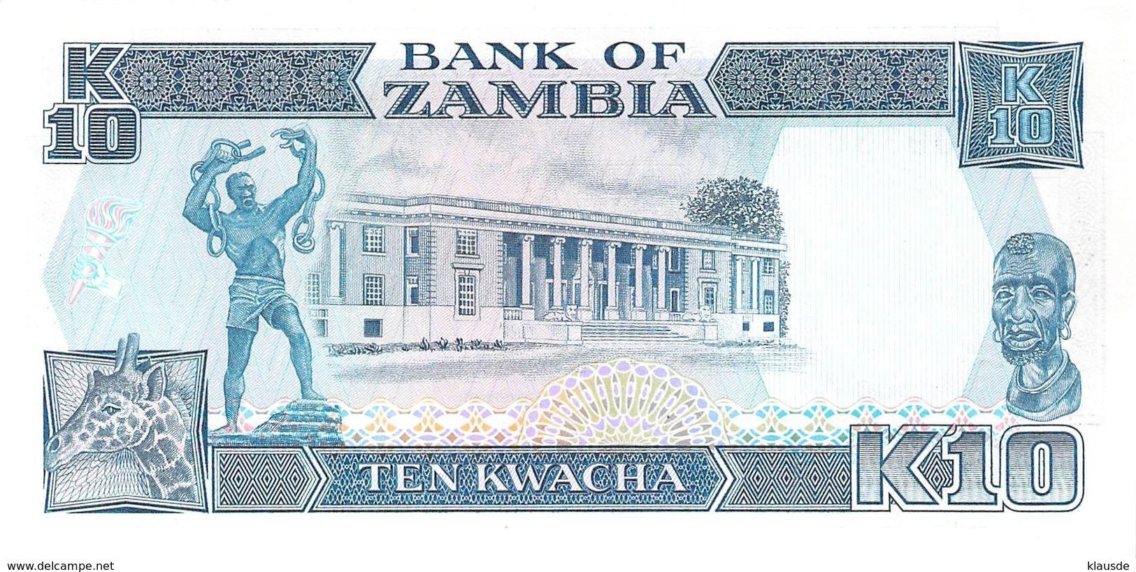10 Kwacha Sambia - Zambia