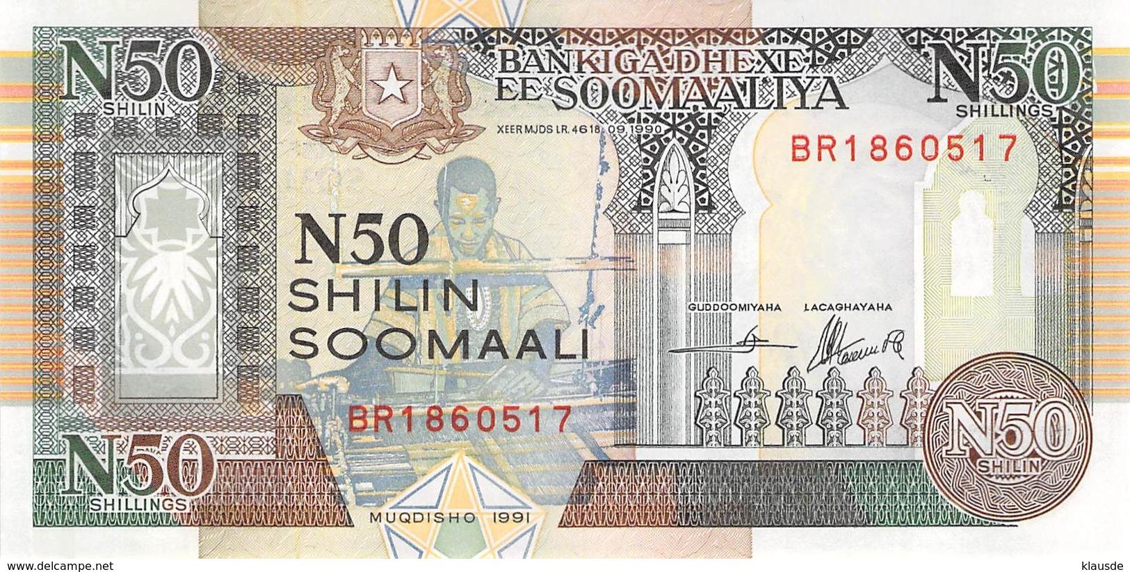 50 Shilin Soomaalia 1991 - Somalia