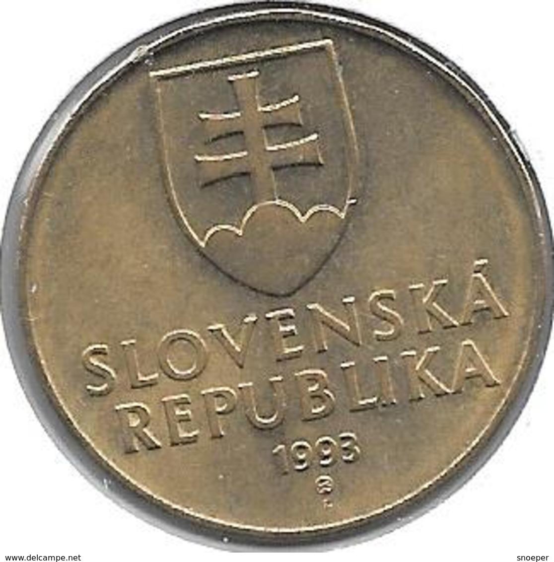 *slovakia 10 Koruna 1993 Km 11 Xf+ - Slovaquie