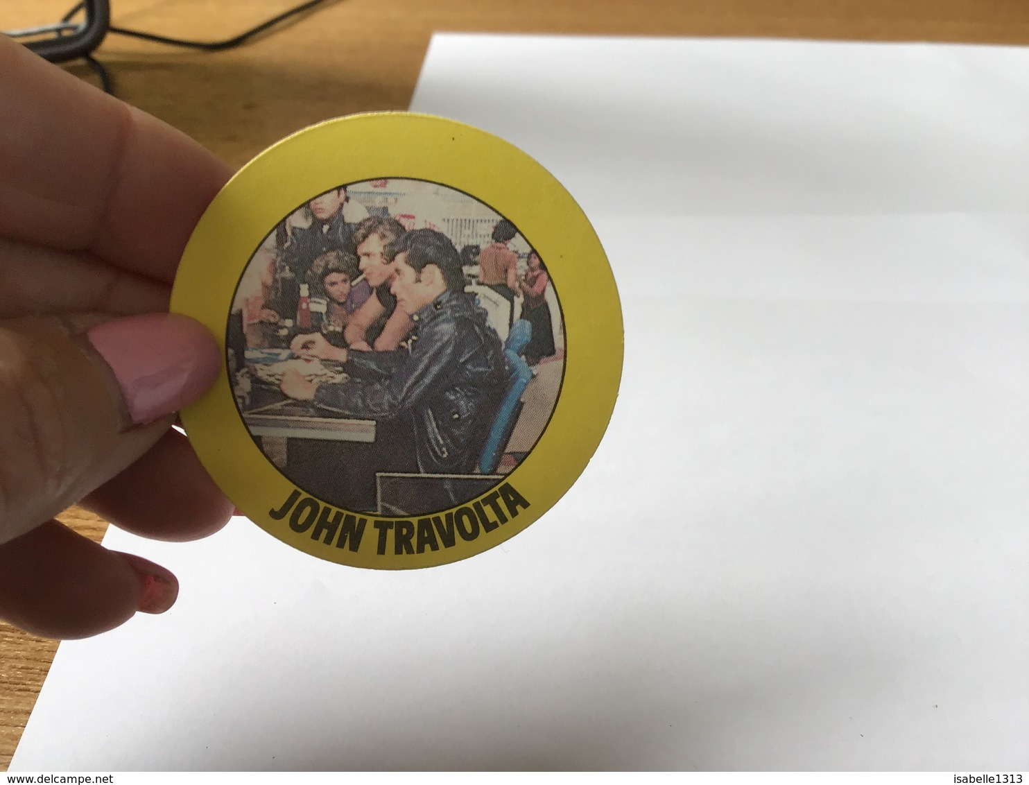 Autocollant Années 80 John Travolta - Autocollants