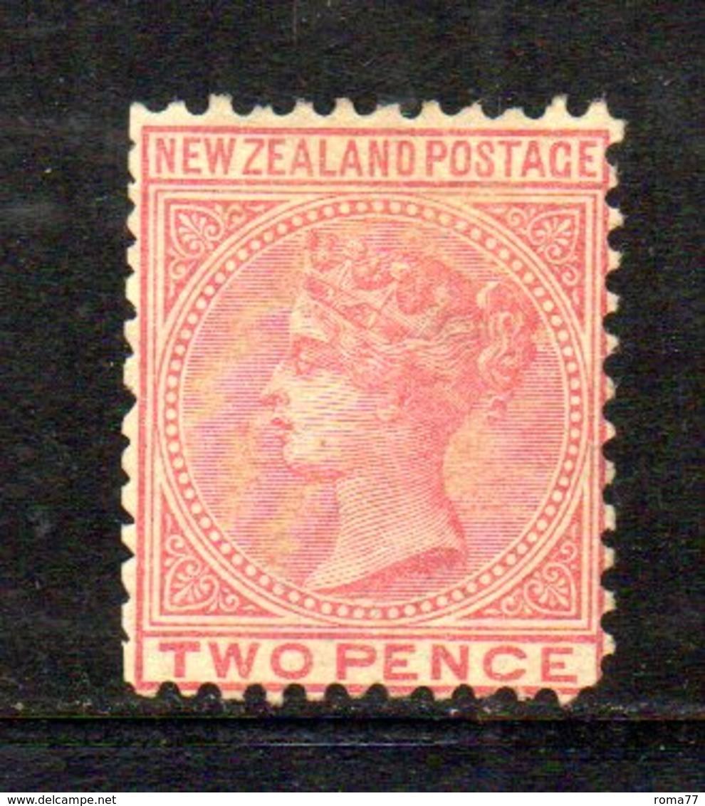 APR1038 - NEW NUOVA ZELANDA 1873 , Vittoria Yvert N. 53 Nuovo Senza Gomma. NZ/star - Unused Stamps
