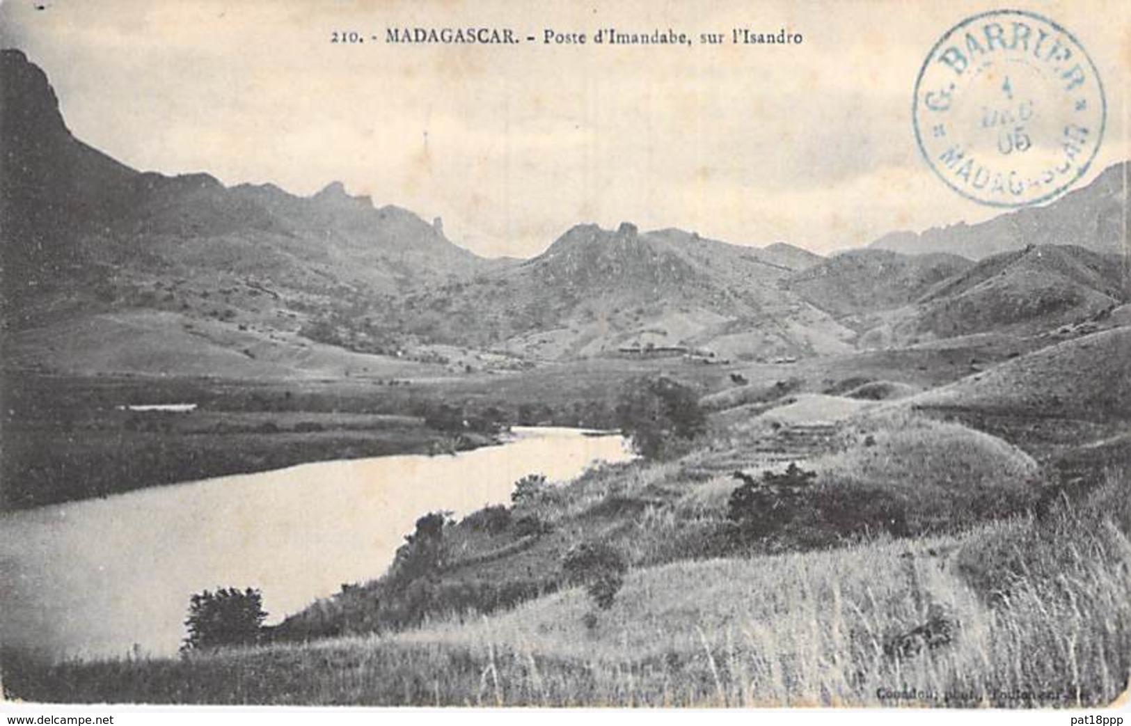 MADAGASCAR - Poste D'IMANDABE Sur L'ISANDRO - CPA - Afrique Noire - Madagascar