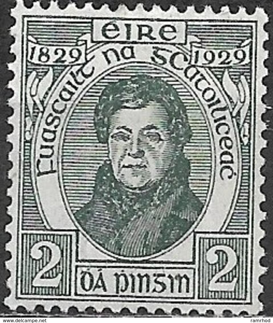 IRELAND 1929 Centenary Of Catholic Emancipation - 2d  Daniel O'Connell MNH - 1922-37 Stato Libero D'Irlanda
