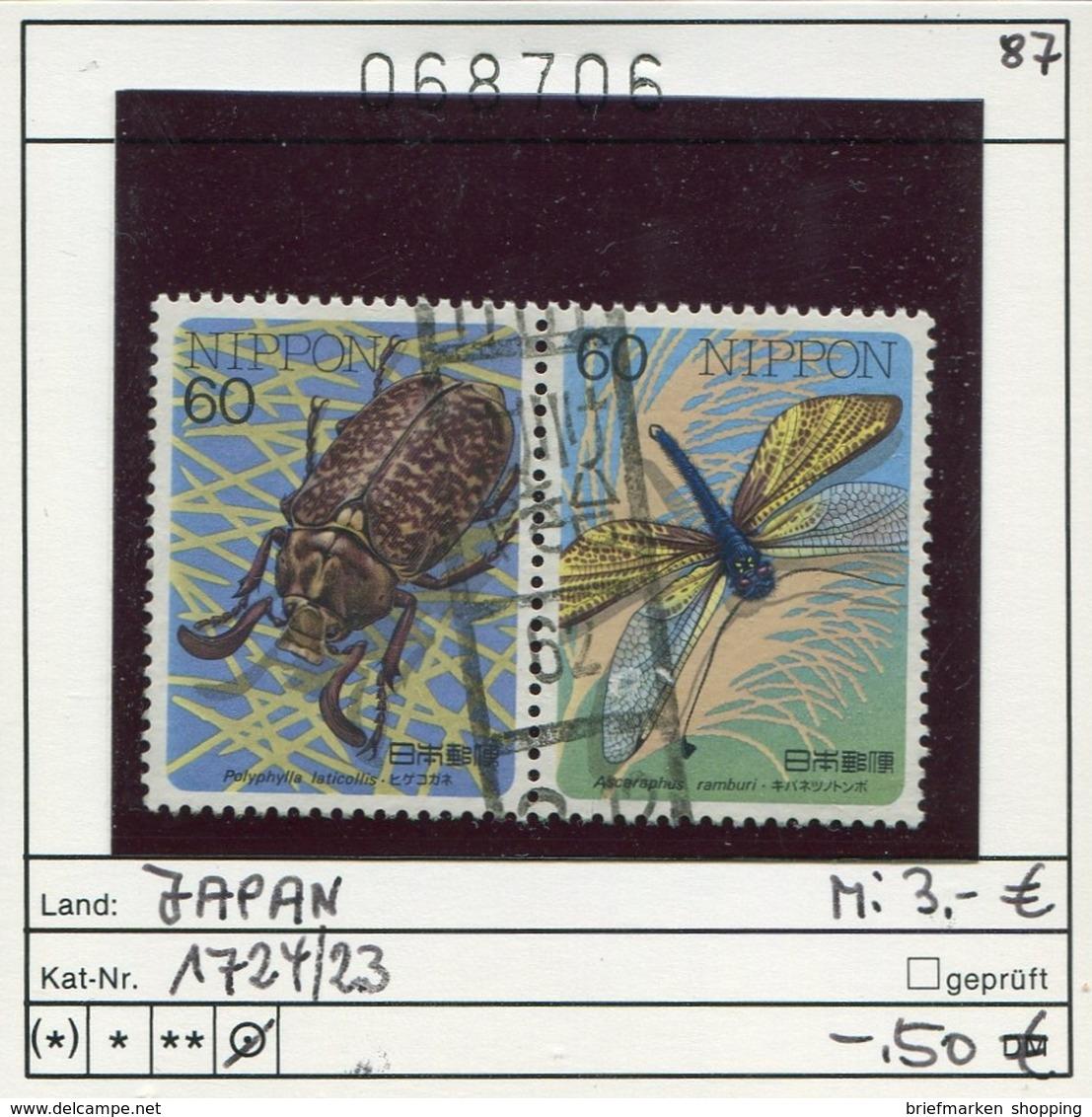 Japan - Japon - Nippon - Michel 1724-1723 - Oo Oblit. Used Gebruikt4 - Used Stamps