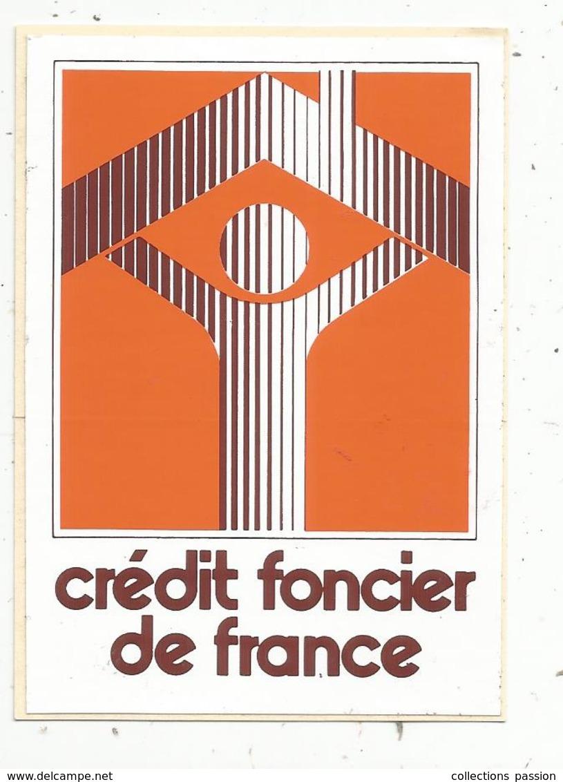 Autocollant , Banque ,  CREDIT FONCIER DE FRANCE - Autocollants