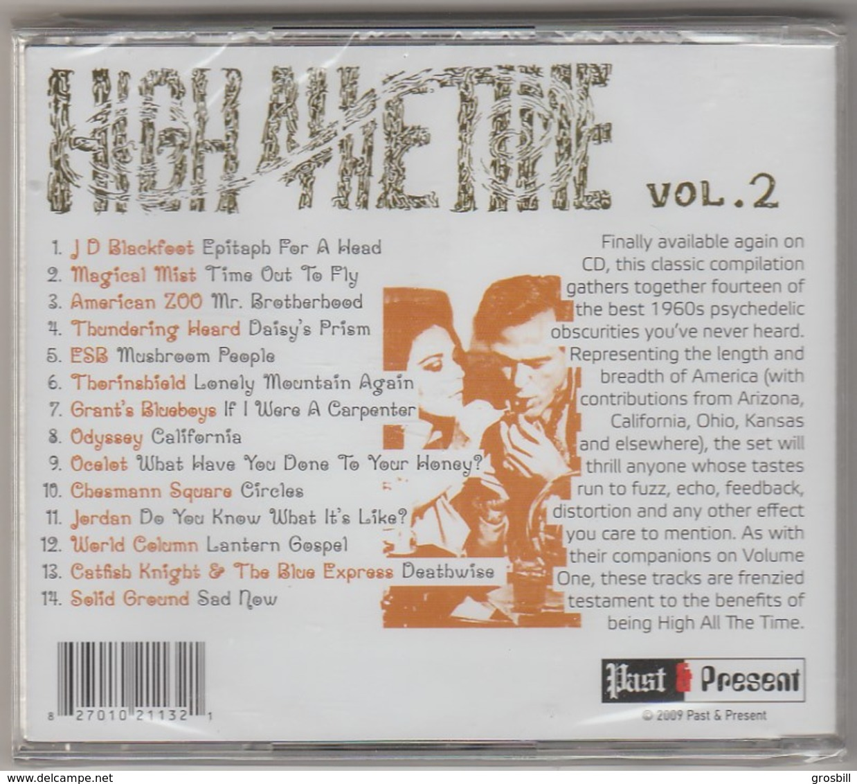 Collectif : High All The Time Vol. 2 (CD) - Musik & Instrumente